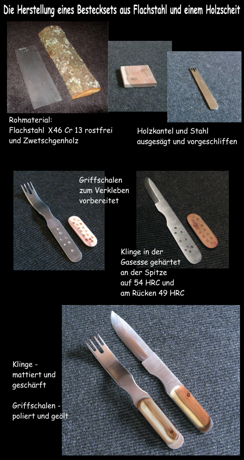 Making of Fork and Knife